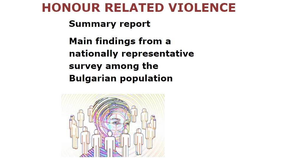 """The most """"problematic"""" form of honour-related violence in Bulgaria are early forced marriages"""
